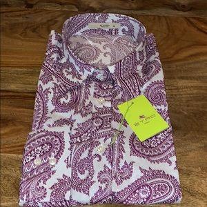 💯 Authentic & New Etro Women's classic shirt